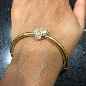 Kate Spade Gold Pave Bracelet